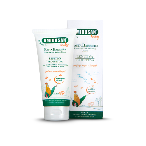 crema lenitiva protettiva pannolino Amidosan